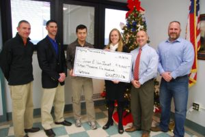 Sweat For Vets Check Presentation 2014