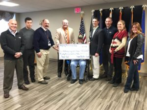 Sweat For Vets Check Presentation 2015