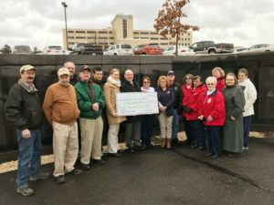 Sweat For Vets Check Presentation 2016